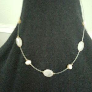 Silpada rose quartz necklace N1724